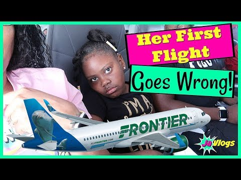 Her First Flight Goes Wrong! | Moving To Florida | Family Vlogs | JaVlogs