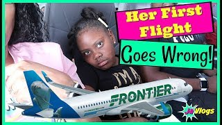 Niyah's First Flight Goes Wrong! | Moving To Florida | Family Vlogs | JaVlogs