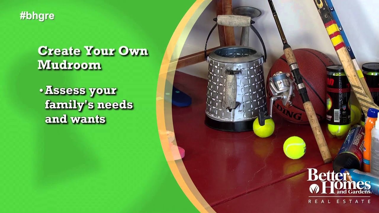 Create Your Own Mudroom Youtube