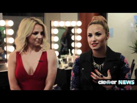 Demi Lovato Interview On Niall Horan And Britney Spears!