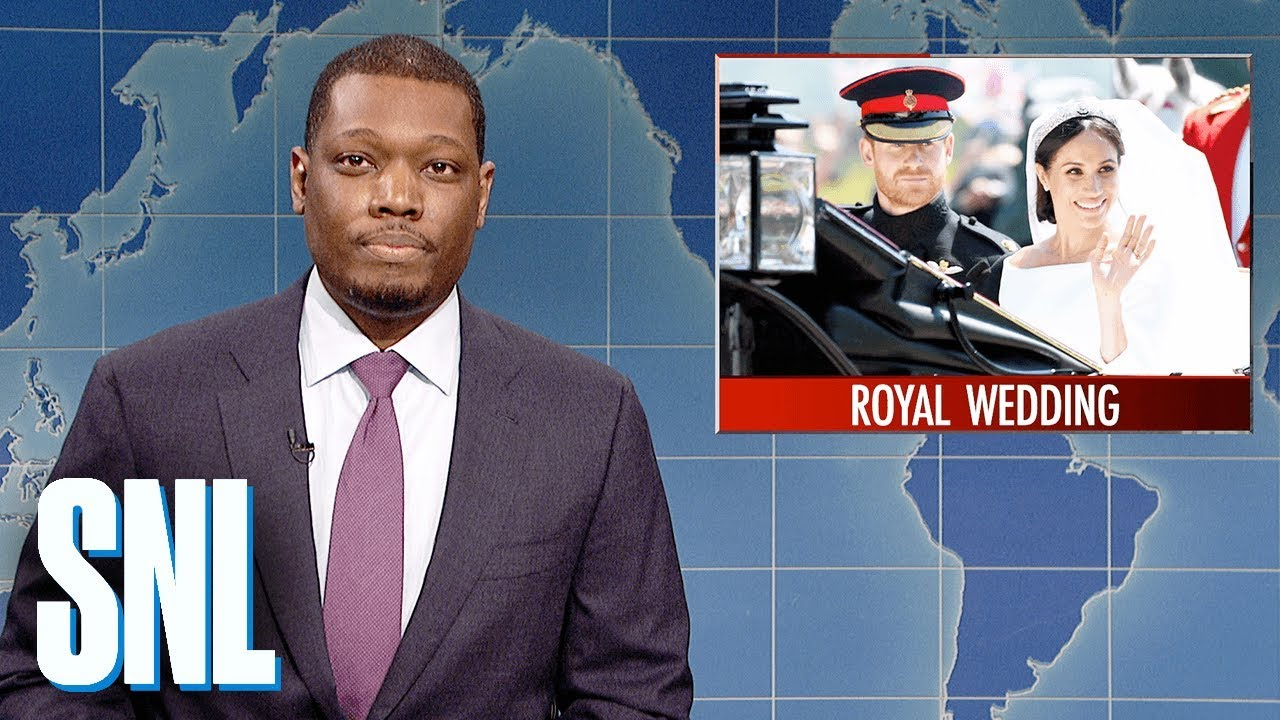 Weekend Update on Prince Harry and Meghan Markle's Royal Wedding - SNL