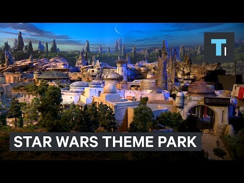 Download Youtube: Disney revealed what Star Wars Land will look like