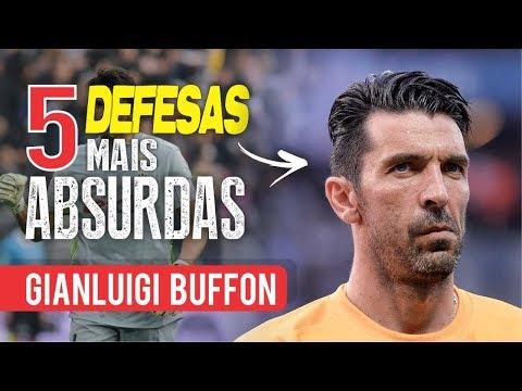 As 5 DESFESAS mais ABSURDAS de GIANLUIGI BUFFON