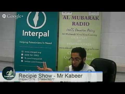 Al Mubarak Radio Live | Recipe Show | 29/11/2014