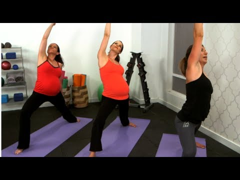 Yoga Strength Workout, Prenatal Fitness, Class FitSugar
