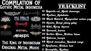 'Full Lagu' Compilation The King Of Gothic Metal Indonesian