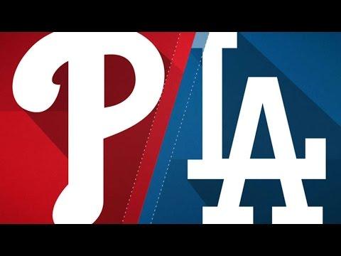 4/28/17: Turner, Maeda lead Dodgers past Phillies