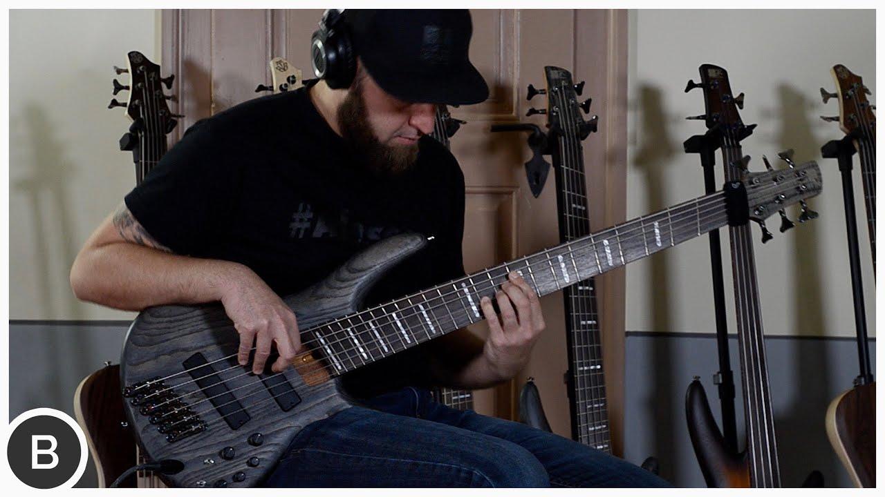 ibanez fanned fret basses srff805 srff806 basstheworld