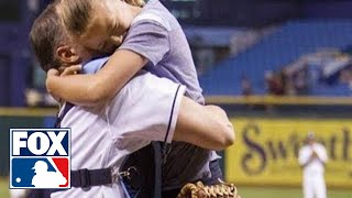 Military Father Surprises Daughter, Reunited at Baseball Game