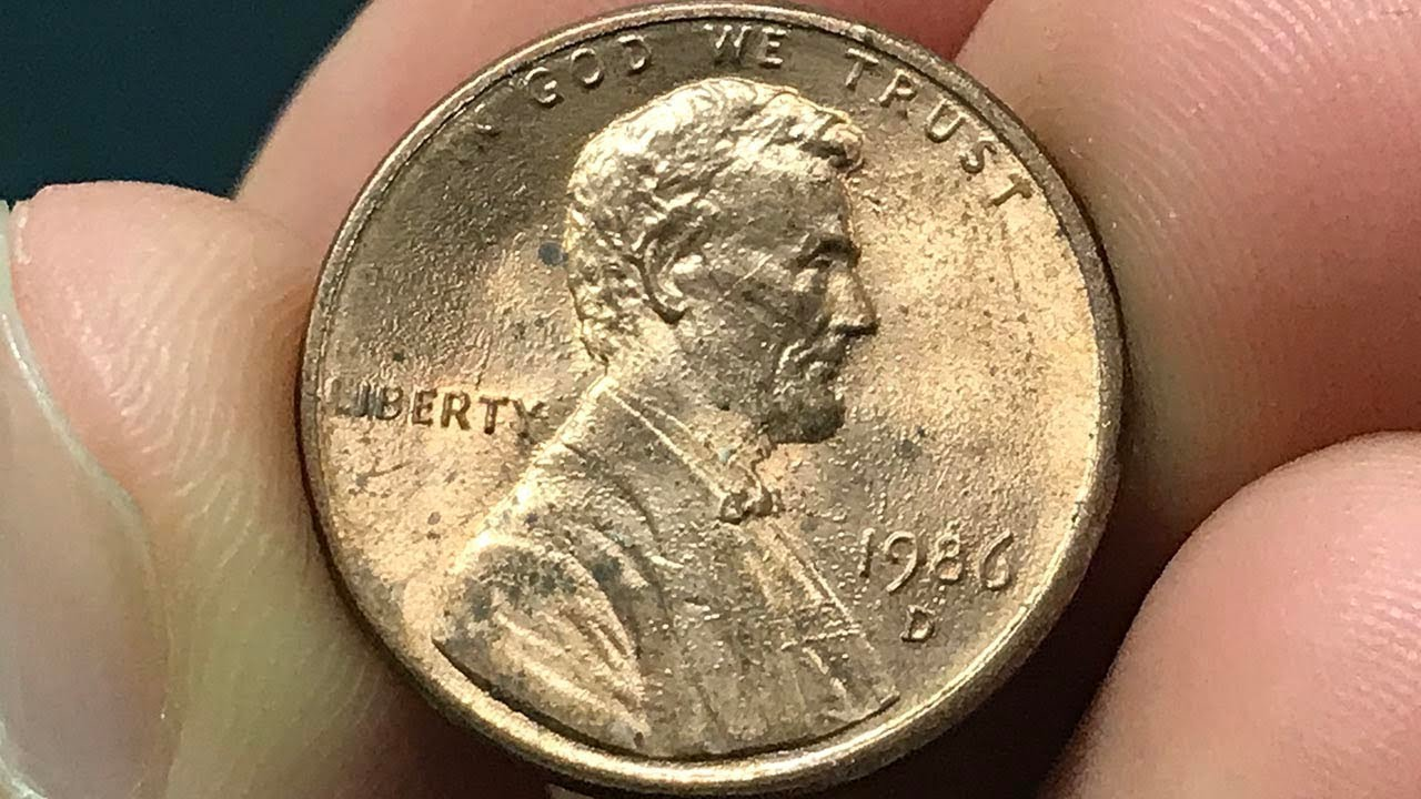1986-D Penny Worth Money - How Much Is It Worth and Why?