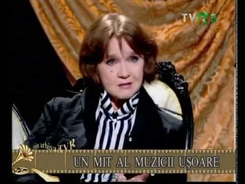 Margareta Paslaru, un mit al muzicii usoare - Arhiva TVR