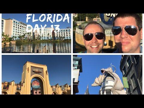 Walt Disney World & Florida 2017 Vlog - October 2017 - Day 13 - Sapphire Falls and Universal Studios