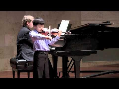 Alex Zhou plays Tartini Devil's Trill Sonata