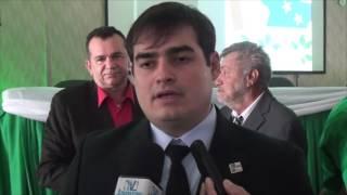 Na diplomação Dr. Rildson fala do desafio de administrar o município de Tabuleiro