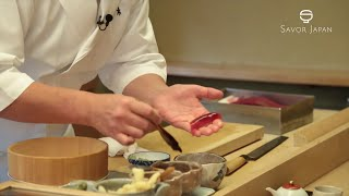 Learn from the master chef how to eat -SUSHI-(繁體中文)
