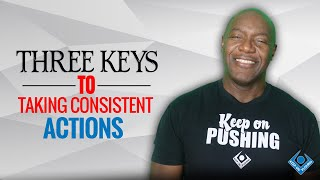 MOTIVATIONAL KEYNOTE SPEAKER DEVON HARRIS ON TAKING CONSISTENT ACTIONS