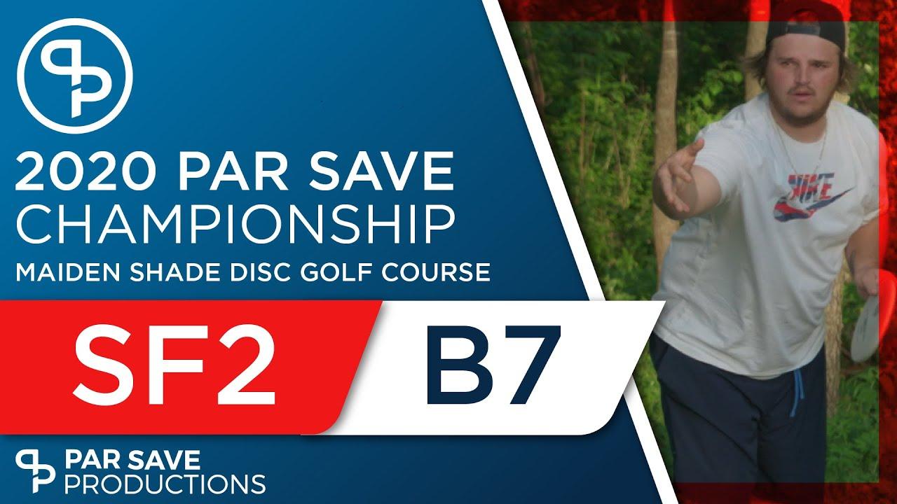 2020 Par Save Championship - Semifinal Back 7 - Rothlisberger, Johnson, Robertson, Hegna
