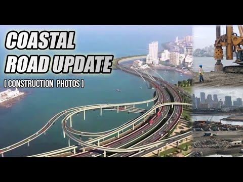 Mumbai Coastal Road ||Construction Update|| Current Status||मुंबई कोस्टल रोड