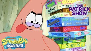 The ULTIMATE Gamer Mastermind 🎲 The Patrick Show | SpongeBob