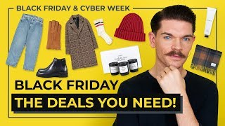 Best Black Friday Deals For Men | 2018