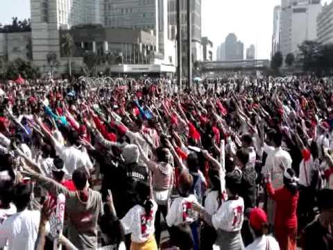Flashmob Jokowi Presiden 2014