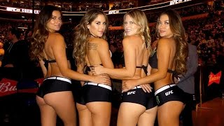 UFC Octagon Girls At UFC 210 in Buffalo ( Daniel Cormier vs Anthony Johnson )