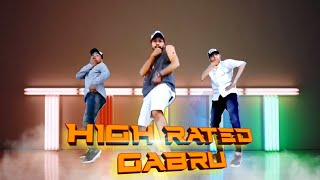 High Rated Gabru | guru Randhawa | Dance Choreography | Vijay mahajan | METRO DANCE CLASS