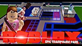 EPIC TRAMPOLINE PARK Pt.2 | Speed Build