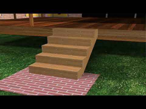 Installing Composite Decking Over Concrete Patio