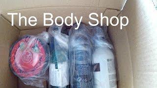 Розпакування The Body Shop || НУ І УПАКОВКА !!!