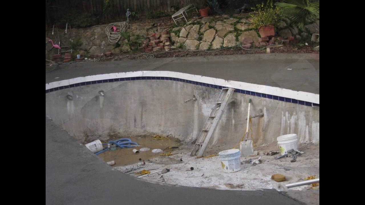 Liner Pool To Gunite Conversion