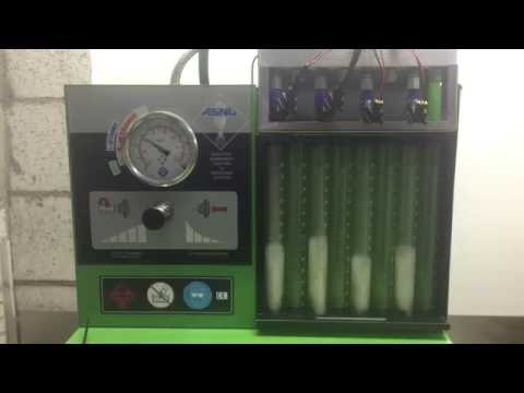 Fuel Injector Clinic 1100cc vs Injector Dynamics 1300cc flow test - 10%  flow difference