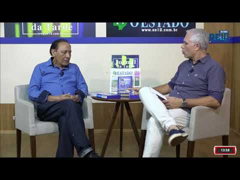 JORNAL DA TARDE COM IBRAHIM - ARTHUR JORGE DO AMARAL -TV O ESTADO MS