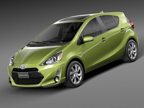 3D Model Toyota Prius C 2015 3D Model at 3DExport com