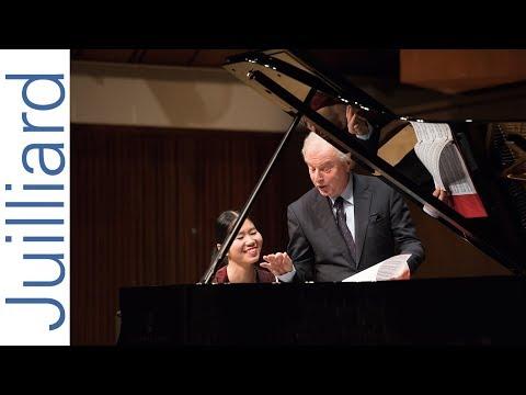 Anna Han: Schumann's Piano Sonata No. 1 | Juilliard Sir András Schiff Piano Master Class