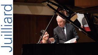 Anna Han: Schumann's Piano Sonata No. 1   Juilliard Sir András Schiff Piano Master Class