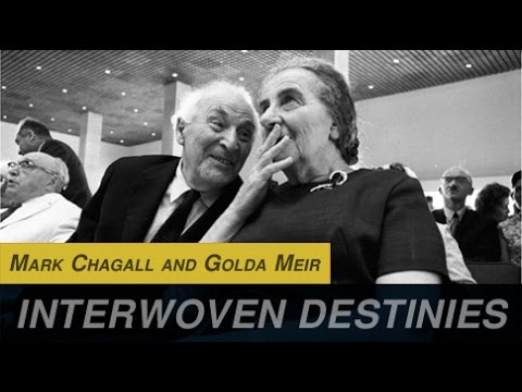 Mark Chagall and Golda Meir
