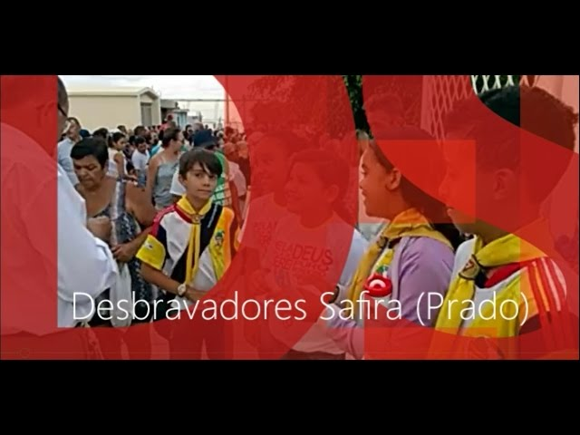 Entrega de Folhetos Clube de Desbravadores Safira - Prado