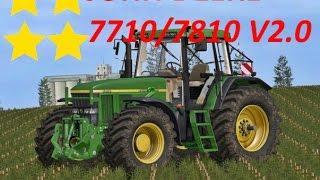 """[""""JOHN DEERE 7710/7810 V2.0"""", """"Mod Vorstellung Farming Simulator Ls17:JOHN DEERE 7710/7810 V2.0""""]"""