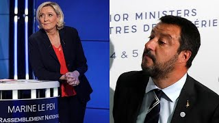Marine Le Pen: In Höchstform mit Matteo Salvini