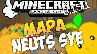Mapa Neuts SYN Para Minecraft Pe 0.15.1 | Mapas Para Minecraft Pe 0.15.2