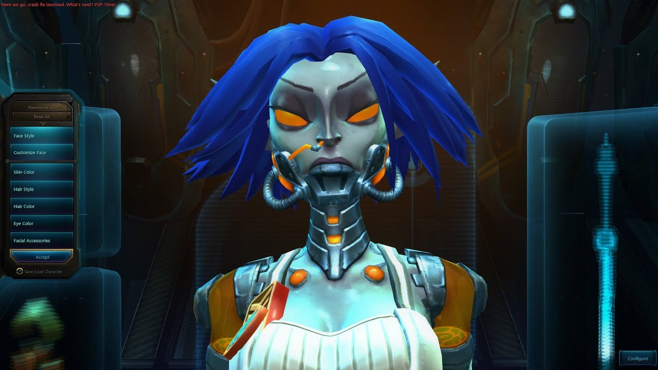 Wildstar Mordesh Female Character Creation - YouTube