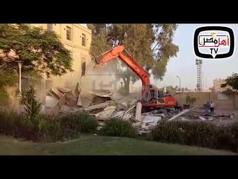 أهل مصر | إخلاء جامعة القاهرة من منشأتها التى كانت تخضع لخدمة الطلاب