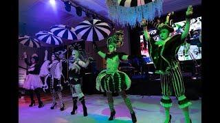 Танец Арлекинов с зонтиками от театра танца №1 в Казахстане Diamante88
