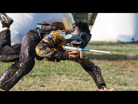College Paintball - Owls vs Knights NCPA - Full Match
