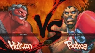 street fighter 4 the hakan comeback evo 2013