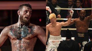 Conor McGregor nói gì về trận đấu giữa Floyd và Tenshin?