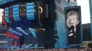 Ed Sheeran, Sing. Ullevi Gothenburg 11/7-18