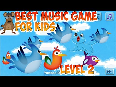 [ Kids And Toys] Musical Me | Duck Duck Moose | Music game for Kids | Level 2
