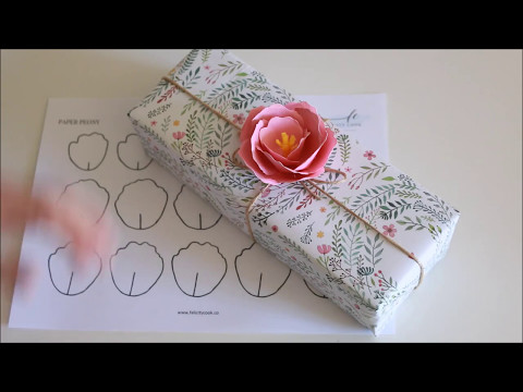 how to make: Paper Peony